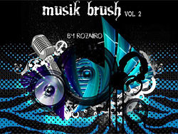 High Definition Music Class PS brush