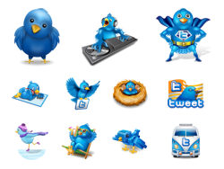 100 cute ideas twitter icon