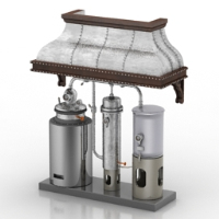 Combination water heaters 3D models